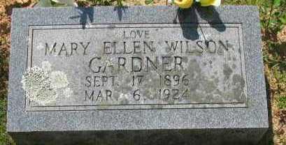 WILSON GARDNER, MARY ELLEN - Pope County, Arkansas   MARY ELLEN WILSON GARDNER - Arkansas Gravestone Photos