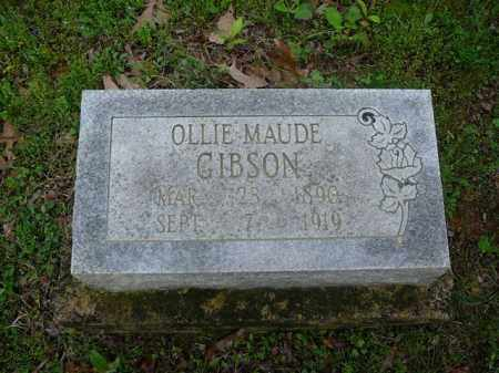 GIBSON, OLLIE - Pope County, Arkansas | OLLIE GIBSON - Arkansas Gravestone Photos