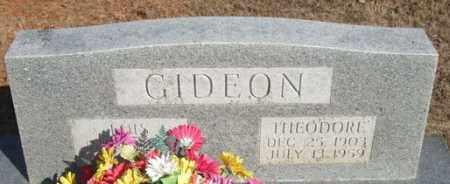 GIDEON, THEODORE - Pope County, Arkansas | THEODORE GIDEON - Arkansas Gravestone Photos