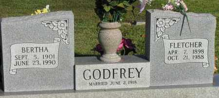 GODFREY, BERTHA - Pope County, Arkansas | BERTHA GODFREY - Arkansas Gravestone Photos