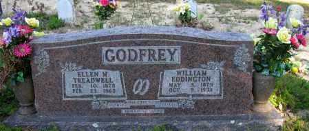 GODFREY, ELLEN M - Pope County, Arkansas   ELLEN M GODFREY - Arkansas Gravestone Photos