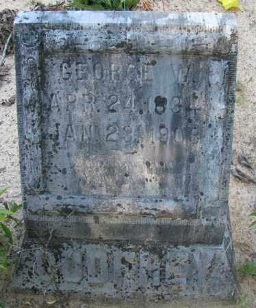 GODFREY, GEORGE W - Pope County, Arkansas | GEORGE W GODFREY - Arkansas Gravestone Photos