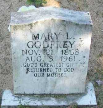 BIRMINGHAM GODFREY, MARY L - Pope County, Arkansas | MARY L BIRMINGHAM GODFREY - Arkansas Gravestone Photos