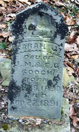 GOOCH, SARAH J - Pope County, Arkansas | SARAH J GOOCH - Arkansas Gravestone Photos