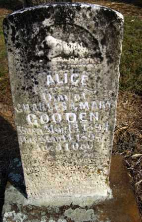 GOODEN, ALICE - Pope County, Arkansas | ALICE GOODEN - Arkansas Gravestone Photos