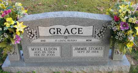 GRACE, MYRL ELDON - Pope County, Arkansas | MYRL ELDON GRACE - Arkansas Gravestone Photos