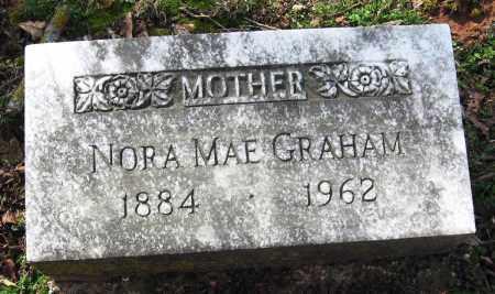 GRAHAM, NORA MAE - Pope County, Arkansas | NORA MAE GRAHAM - Arkansas Gravestone Photos