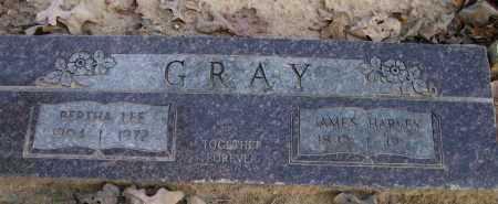 GRAY, JAMES HARVEY - Pope County, Arkansas | JAMES HARVEY GRAY - Arkansas Gravestone Photos