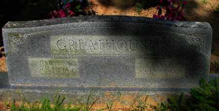 GREATHOUSE, GAY - Pope County, Arkansas | GAY GREATHOUSE - Arkansas Gravestone Photos