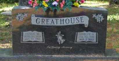 GREATHOUSE, SHIRLEY A - Pope County, Arkansas | SHIRLEY A GREATHOUSE - Arkansas Gravestone Photos