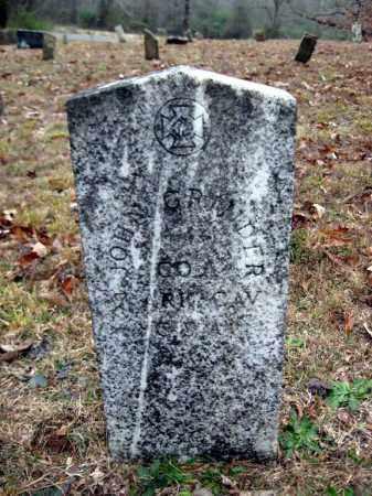 GRINDER (VETERAN CSA), JOHN - Pope County, Arkansas | JOHN GRINDER (VETERAN CSA) - Arkansas Gravestone Photos