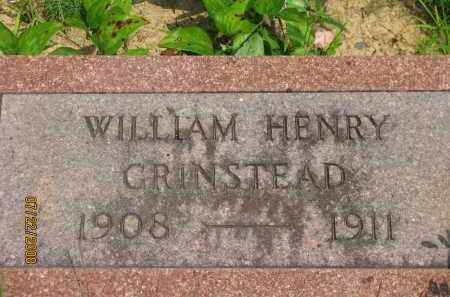 GRINSTEAD, WILLIAM HENRY - Pope County, Arkansas | WILLIAM HENRY GRINSTEAD - Arkansas Gravestone Photos