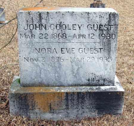 GUEST, NORA EVE - Pope County, Arkansas | NORA EVE GUEST - Arkansas Gravestone Photos