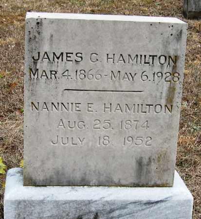 HAMILTON, JAMES G - Pope County, Arkansas | JAMES G HAMILTON - Arkansas Gravestone Photos