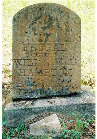 HAMPTON, FRUGAL - Pope County, Arkansas   FRUGAL HAMPTON - Arkansas Gravestone Photos