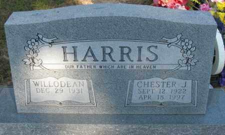 HARRIS, CHESTER J - Pope County, Arkansas | CHESTER J HARRIS - Arkansas Gravestone Photos