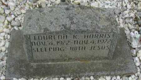 HARRIS, LOURENA K - Pope County, Arkansas   LOURENA K HARRIS - Arkansas Gravestone Photos