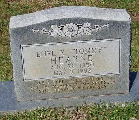 "HEARNE, EUEL E ""TOMMY"" - Pope County, Arkansas   EUEL E ""TOMMY"" HEARNE - Arkansas Gravestone Photos"