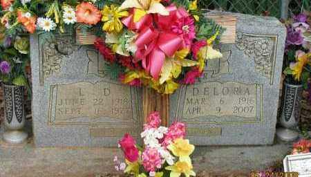 HEFLIN, DELORA - Pope County, Arkansas | DELORA HEFLIN - Arkansas Gravestone Photos