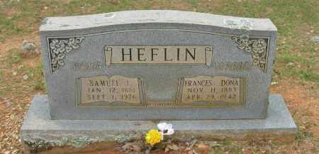 HEFLIN, FRANCES DONA - Pope County, Arkansas | FRANCES DONA HEFLIN - Arkansas Gravestone Photos