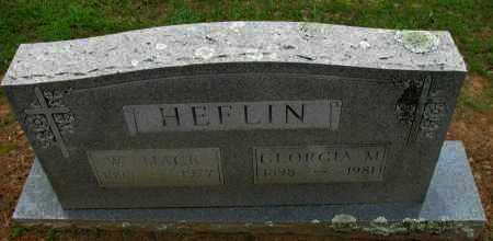 HEFLIN, GEORGIA M - Pope County, Arkansas | GEORGIA M HEFLIN - Arkansas Gravestone Photos