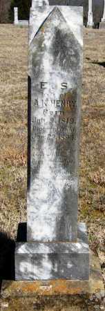 HENRY, E  S - Pope County, Arkansas | E  S HENRY - Arkansas Gravestone Photos