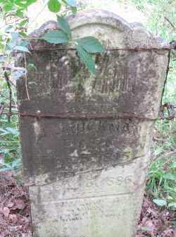 HICKMAN, ANDREW JACKSON - Pope County, Arkansas | ANDREW JACKSON HICKMAN - Arkansas Gravestone Photos