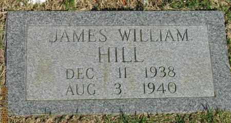 HILL, JAMES WILLIAM - Pope County, Arkansas | JAMES WILLIAM HILL - Arkansas Gravestone Photos