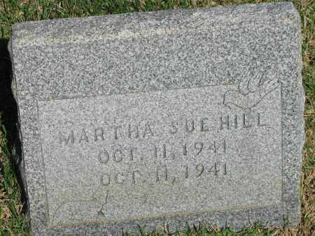 HILL, MARTHA SUE - Pope County, Arkansas | MARTHA SUE HILL - Arkansas Gravestone Photos