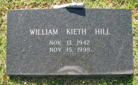 HILL, WILLIAM KIETH - Pope County, Arkansas   WILLIAM KIETH HILL - Arkansas Gravestone Photos