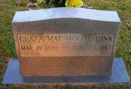 HINK, CLARA MAE - Pope County, Arkansas   CLARA MAE HINK - Arkansas Gravestone Photos