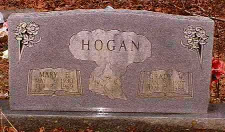 HOGAN, GRADY WILBURN - Pope County, Arkansas | GRADY WILBURN HOGAN - Arkansas Gravestone Photos