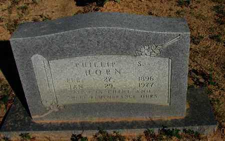 HORN, PHILLIP S - Pope County, Arkansas | PHILLIP S HORN - Arkansas Gravestone Photos