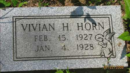 HORN, VIVIAN H - Pope County, Arkansas | VIVIAN H HORN - Arkansas Gravestone Photos