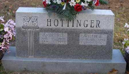 HOTTINGER, ANDREW J - Pope County, Arkansas | ANDREW J HOTTINGER - Arkansas Gravestone Photos