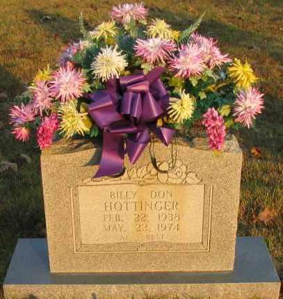 HOTTINGER, BILLY DON - Pope County, Arkansas | BILLY DON HOTTINGER - Arkansas Gravestone Photos