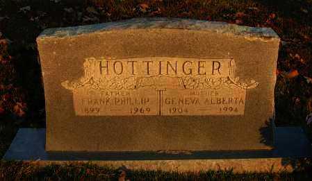 HOTTINGER, GENEVA ALBERTA - Pope County, Arkansas | GENEVA ALBERTA HOTTINGER - Arkansas Gravestone Photos