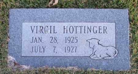 HOTTINGER, VIRGIL - Pope County, Arkansas   VIRGIL HOTTINGER - Arkansas Gravestone Photos