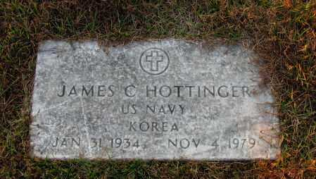 HOTTINGER (VETERAN KOR), JAMES C - Pope County, Arkansas | JAMES C HOTTINGER (VETERAN KOR) - Arkansas Gravestone Photos