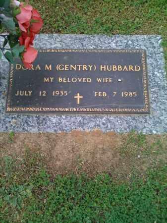 GENTRY HUBBARD, DORA - Pope County, Arkansas | DORA GENTRY HUBBARD - Arkansas Gravestone Photos