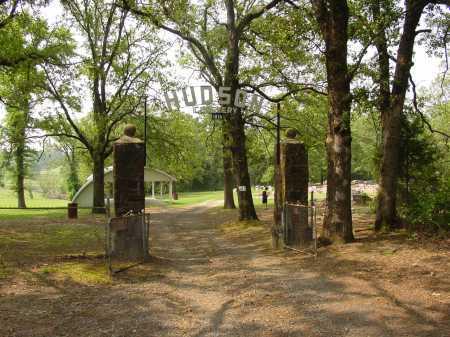 *HUDSON CEMETERY GATE,  - Pope County, Arkansas |  *HUDSON CEMETERY GATE - Arkansas Gravestone Photos