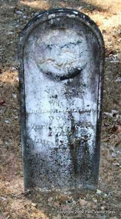 SCOTT JACKSON, NANCY - Pope County, Arkansas | NANCY SCOTT JACKSON - Arkansas Gravestone Photos