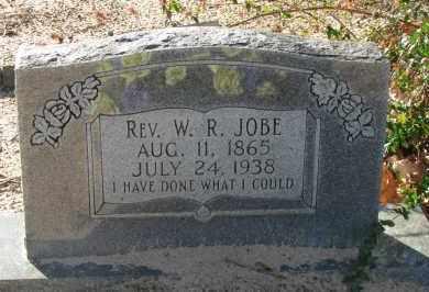 JOBE, REV  W R - Pope County, Arkansas   REV  W R JOBE - Arkansas Gravestone Photos