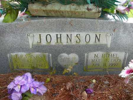 JOHNSON, ETHEL - Pope County, Arkansas | ETHEL JOHNSON - Arkansas Gravestone Photos
