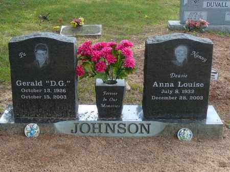 BRYANT JOHNSON, ANNA - Pope County, Arkansas | ANNA BRYANT JOHNSON - Arkansas Gravestone Photos