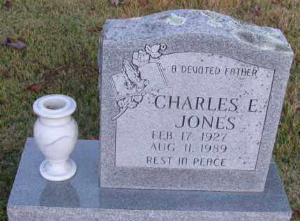 JONES, CHARLES E - Pope County, Arkansas | CHARLES E JONES - Arkansas Gravestone Photos