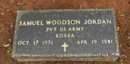 JORDAN  (VETERAN KOR), SAMUEL WOODSON - Pope County, Arkansas | SAMUEL WOODSON JORDAN  (VETERAN KOR) - Arkansas Gravestone Photos