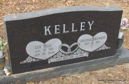 "KELLEY, COY ""BUD"" - Pope County, Arkansas 