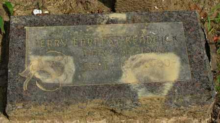 KENDRICK, PERRY EARNEST - Pope County, Arkansas   PERRY EARNEST KENDRICK - Arkansas Gravestone Photos