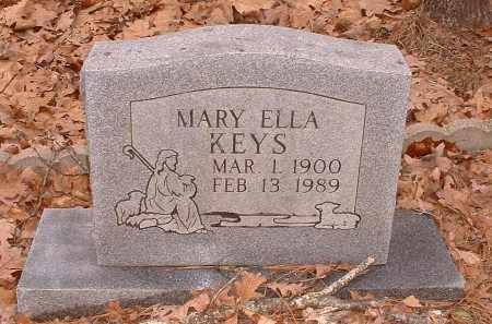 KEYS, MARY ELLA - Pope County, Arkansas | MARY ELLA KEYS - Arkansas Gravestone Photos